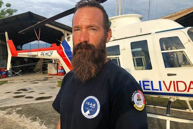 Gerd Habel aus Ebringen hilft im indonesischen Katastrophengebiet