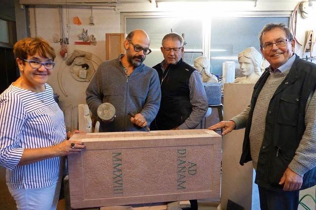 Römische Siedlung in Friesenheim neu gestaltet