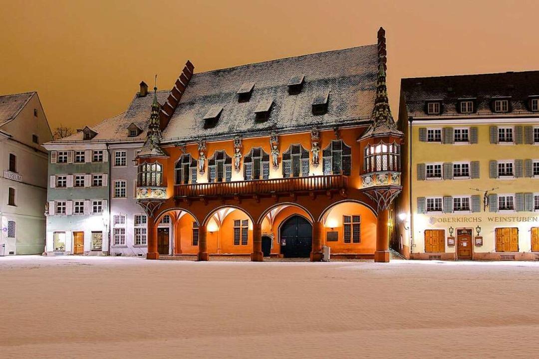 """3. Platz in der Kategorie """"Stadt...rnacht auf dem Münsterplatz (Freiburg)    Foto: Patrick Lohmüller"""