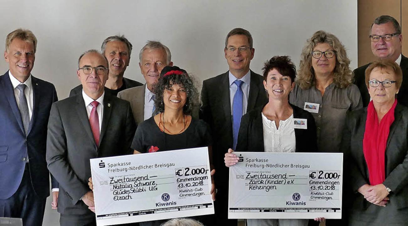 Das GlüchsStübli aus Elzach und Zarok ...datoren, Kiwaniern und Jurymitgliedern  | Foto: Christiane Schlüter