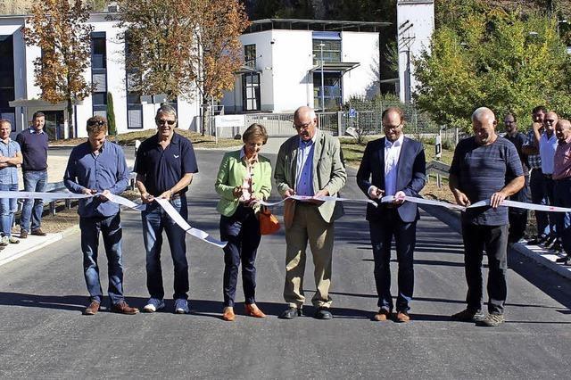 Neue Kreisstraßenbrücke erleichtert der Straßenmeisterei die Arbeit