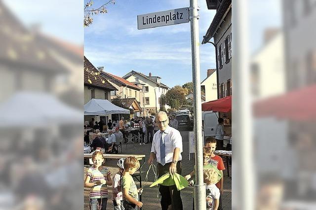 Den Reichenbacher Lindenplatz gibt's jetzt offiziell