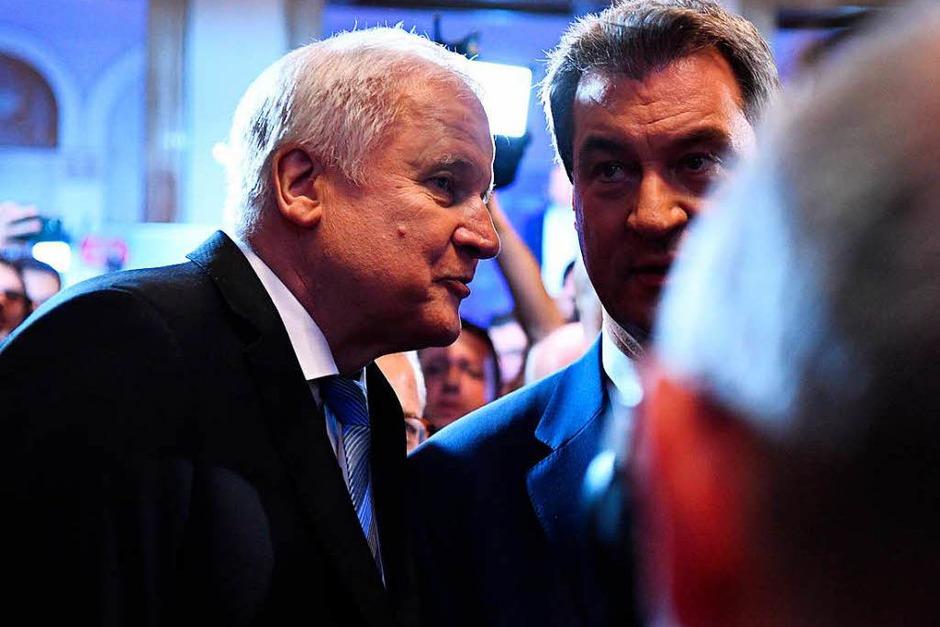 Die CSU verliert ihre absolute Mehrheit und muss sich einen Koalitionspartner suc. (Foto: dpa)