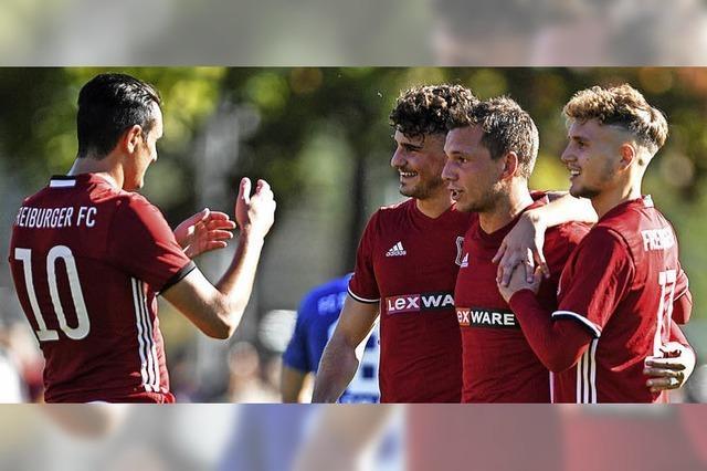 Freiburger FC setzt sich ab
