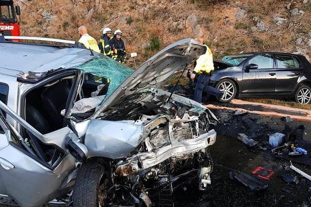 18-Jähriger geriet in Gegenverkehr – Sperrung auf B500 aufgehoben