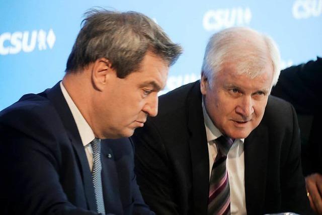 CSU-Vorstand einstimmig: Söder soll Ministerpräsident bleiben