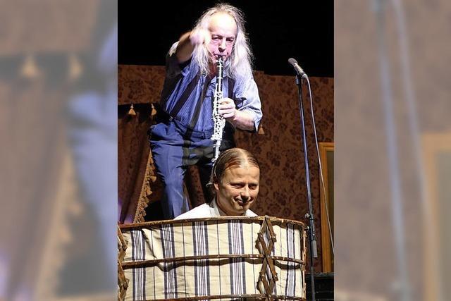Gogol & Mäx mit ihrem Concerto Humoroso in der Offenburger Reithalle
