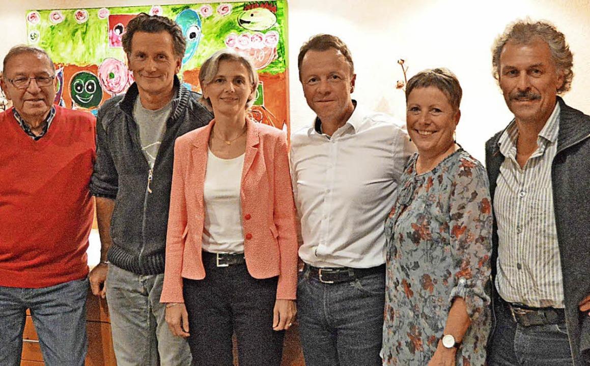 Das alte und das neue Kiwanis-Vorstand...Heike Schmarje und  Christof Schwald.   | Foto: Privat (Ingo Herzog)