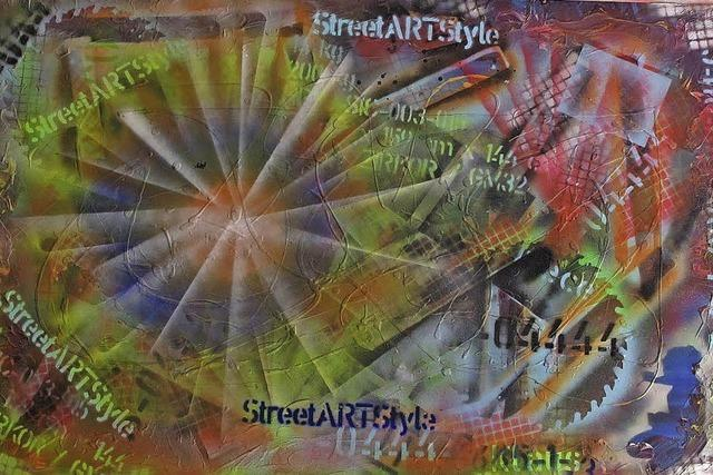 Kunstwerke mit Farben aus der Sprühdose