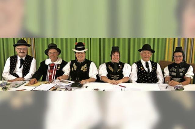 Trachtenvereine in Freiburg dabei