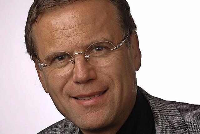 Jürgen Glocker liest über Hans Thoma
