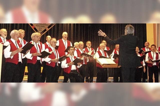 Männerchor unter neuer Leitung
