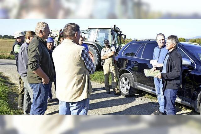 Kampf gegen Starkregen in Schallbach