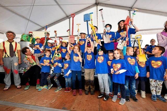 Bauarbeiten für die neue Kinderklinik in Freiburg haben begonnen