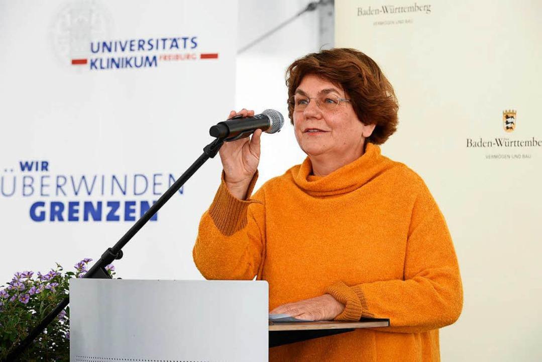 Klinikchefin Charlotte Niemeyer, die S...in des Universitätsklinikums  Freiburg  | Foto: Thomas Kunz