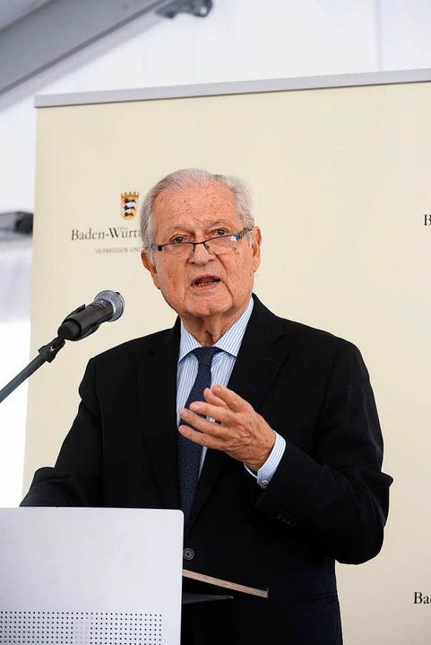 Der Leitende Ärztliche Direktor des Uniklinikums, Jörg Rüdiger Siewert  | Foto: Thomas Kunz