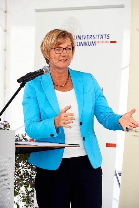 Finanzministerin Edith Sitzmann  | Foto: Thomas Kunz