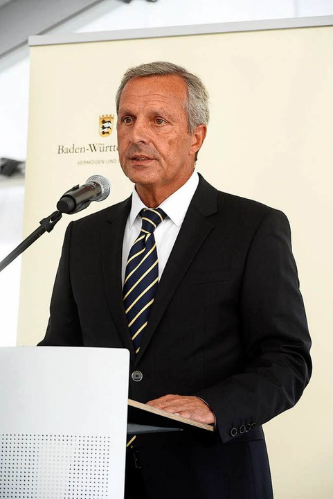 Karl-Heinz Bühler, Chef des Uni-Bauamts  | Foto: Thomas Kunz
