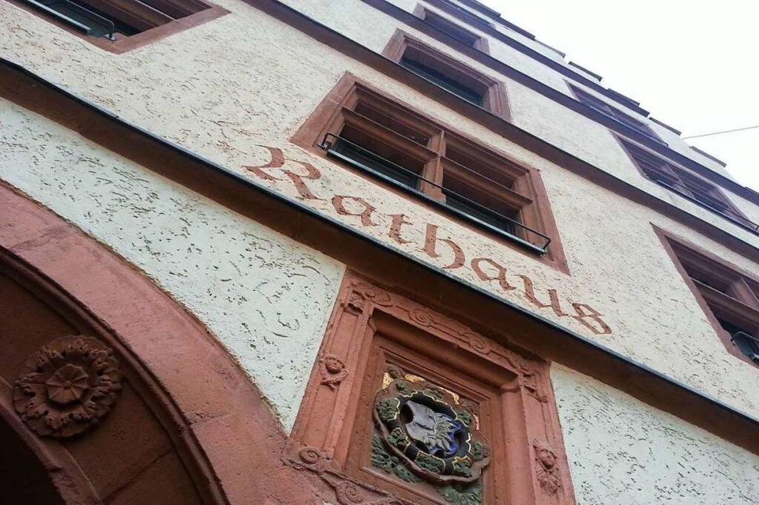 Wer zieht ins Endinger Rathaus ein?    Foto: Martin Wendel