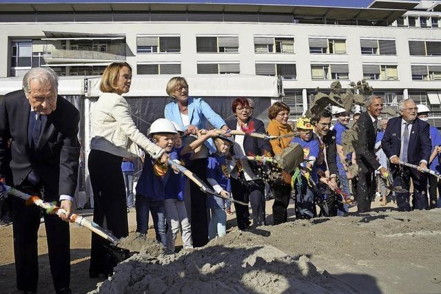 Spatenstich für die neue Freiburger Kinderklinik