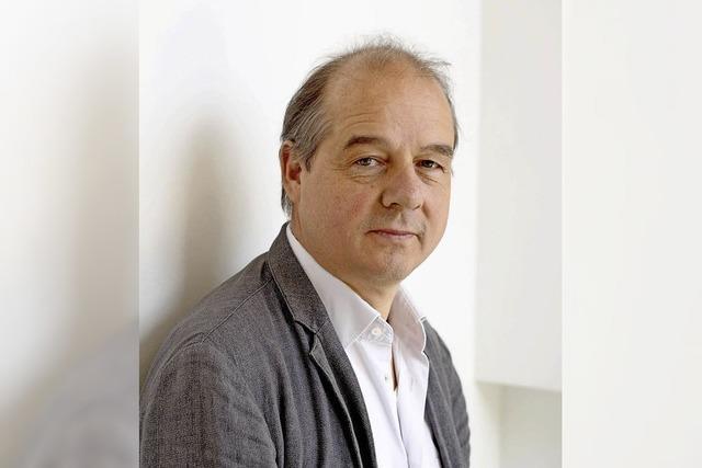 Karl-Heinz Ott im Literaturhaus