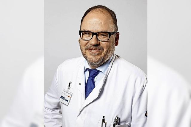 Chefarzt Jens Wattchow referiert in Lörrach über