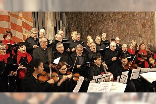 Chorgemeinschaft Bad Säckingen und Männerchor MGV Eintracht Weisweil singen beim Liederabend am 20. Oktober, ab 18 Uhr im Münsterpfarrhof in Bad Säckingen.