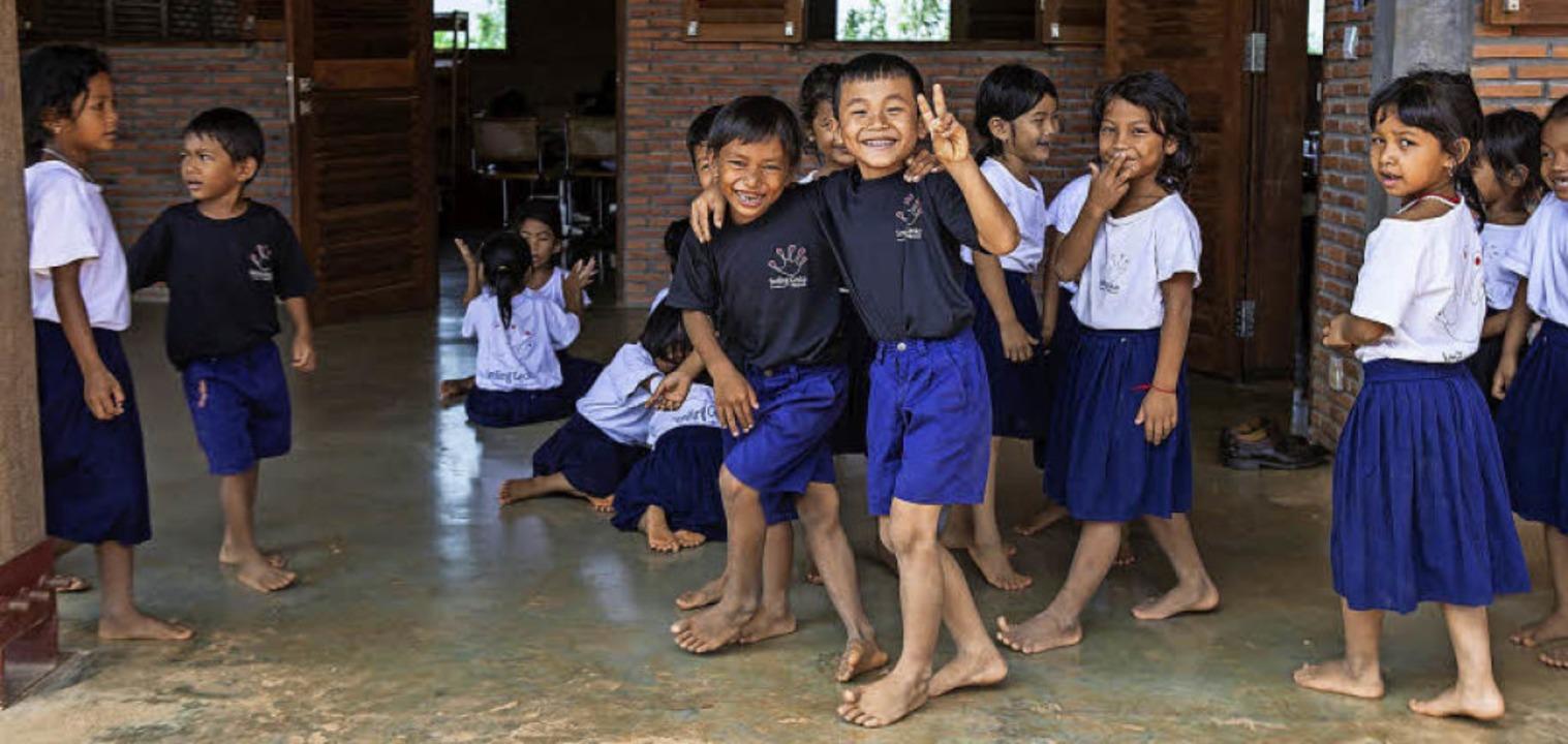 Kinder  können zur Schule gehen, bekom...ahlzeiten und medizinische Versorgung.  | Foto: privat