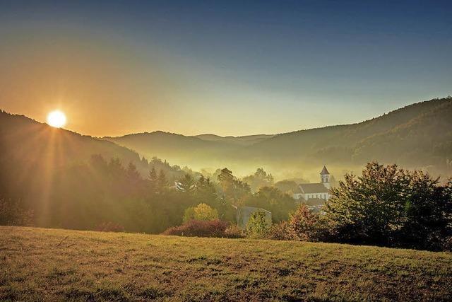 Goldener Oktober in Münchweier
