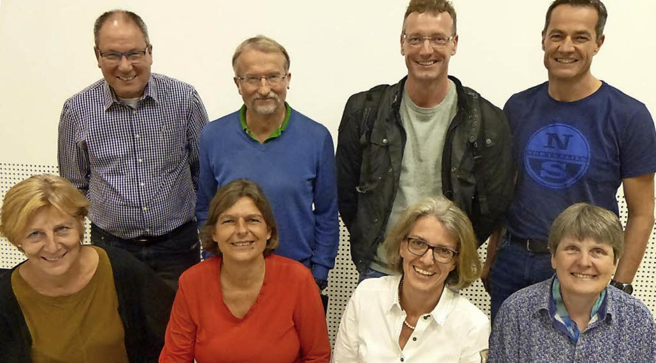 Der neue Pro.Bad-Vorstand (jeweils von.... Nicht auf dem Bild: Christian Flotho  | Foto: Anne Freyer