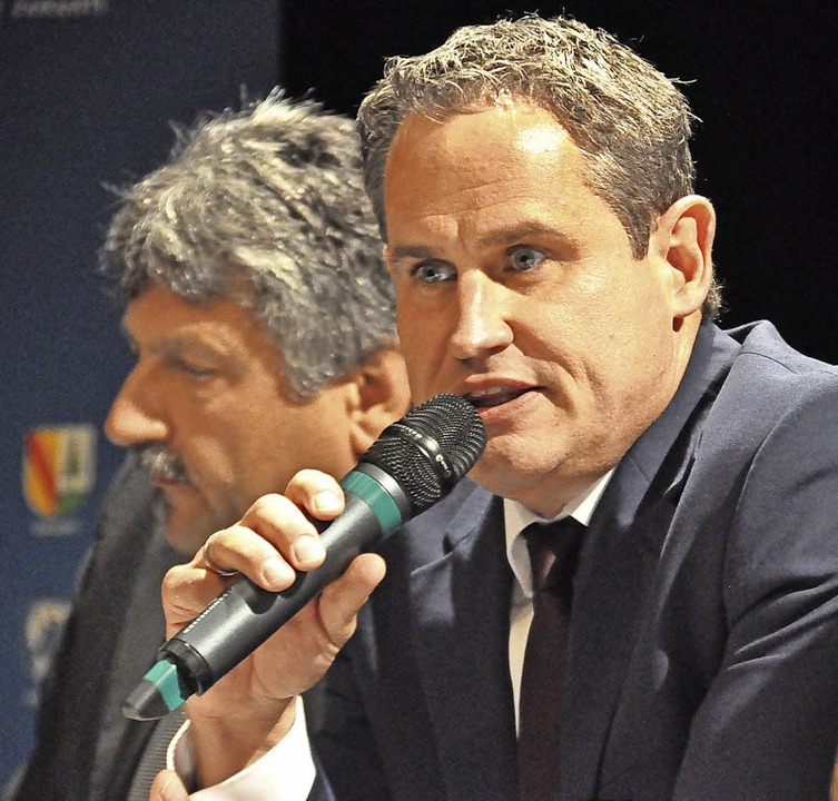 Dirk Harscher ist nun bei den Grünen F...t zum zweiten Wahlgang nicht mehr an.     Foto: Nicolai Kapitz