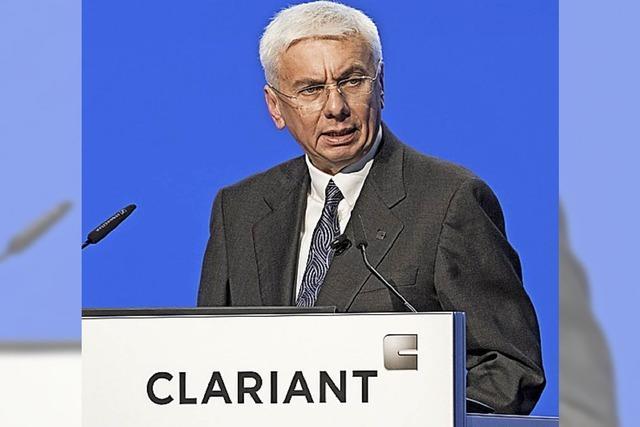 Clariant mit neuem Chef und Großaktionär