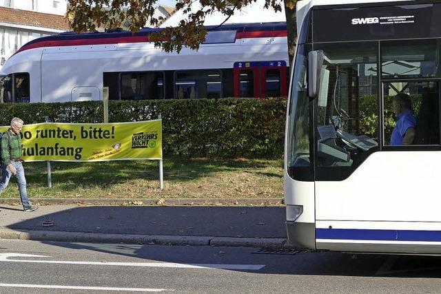 Ausschuss in Lörrach kritisiert Leerfahrten der Buslinie 9 durch Stetten-Süd
