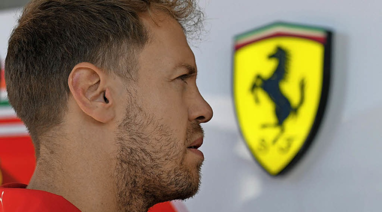 Sebastian Vettel und  Ferrari: noch keine Traumehe  | Foto: afp