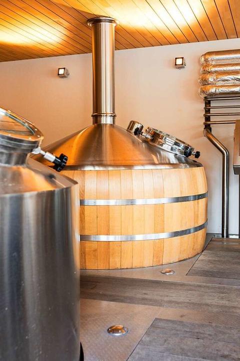 In der Brauerrei Rogg in Lenzkirch braut auch  Walschebauer sein Bier.   | Foto: Joss Andres