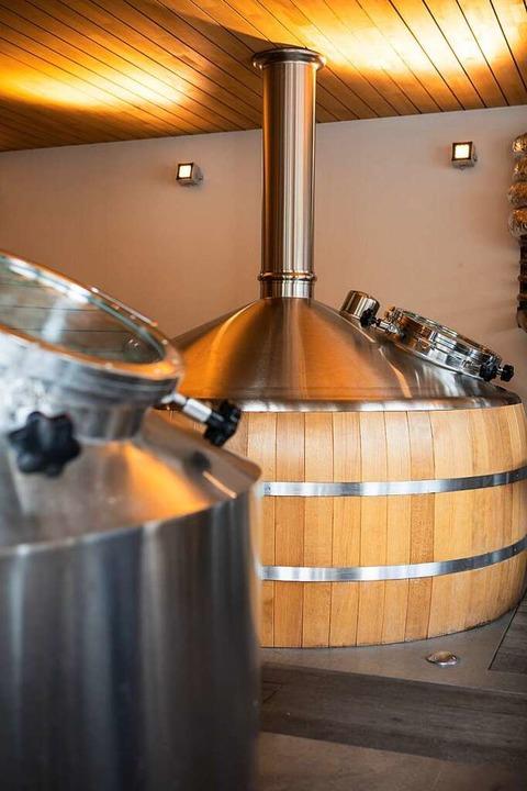 In der Brauerei Rogg in Lenzkirch.   | Foto: Joss Andres