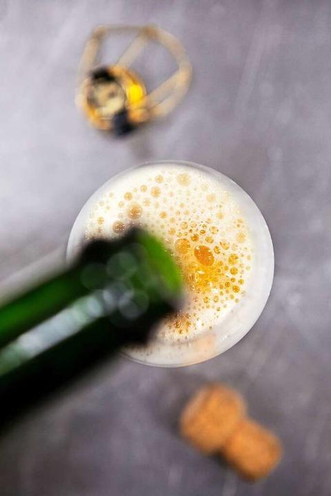 Bier aus der Champagnerflasche: Walschebauers Coco d'Or.   | Foto: Joss Andres