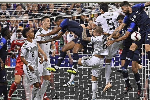 Deutschland verliert 1:2 gegen Weltmeister Frankreich