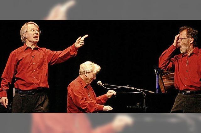 Das BosArt Trio im Tuniberghaus in Freiburg-Tiengen