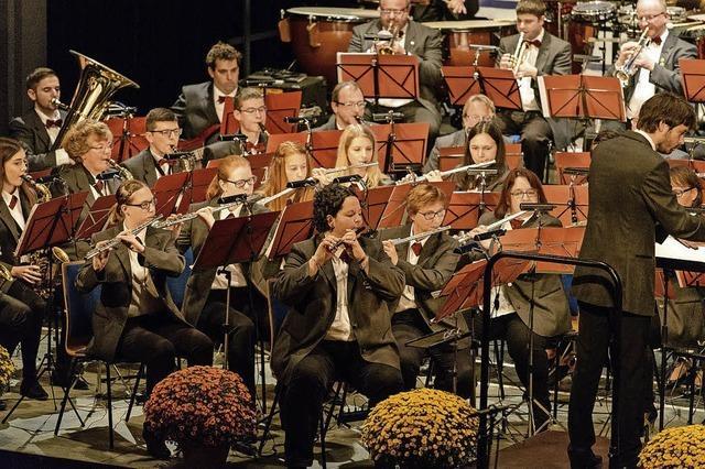 Die Stadtkapelle Lahr lädt ein zur Chrysanthemengala im Parktheater
