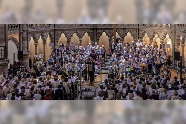 Ein gigantisches Chorfest im Geist der Versöhnung