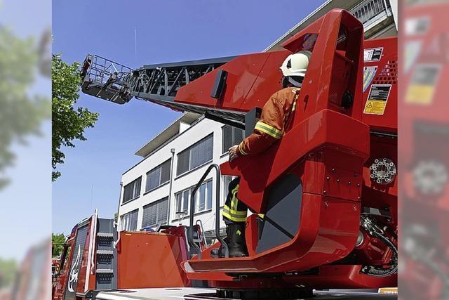 Feuerwehr für alle Gebäudehöhen gerüstet
