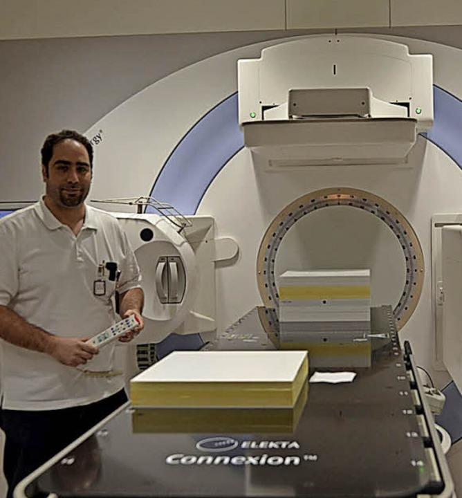 Die Strahlentherapie in Lörrach bei der Einweihung 2014   | Foto: Baas