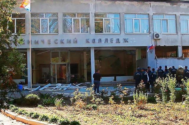 Brutaler Angriff auf Schule erschüttert Halbinsel Krim