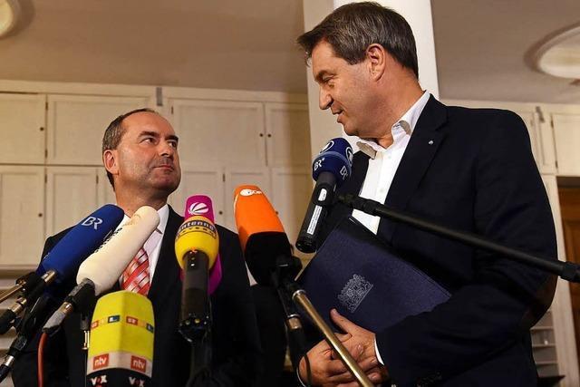 CSU-Präsidium will Koalitionsverhandlungen mit Freien Wählern