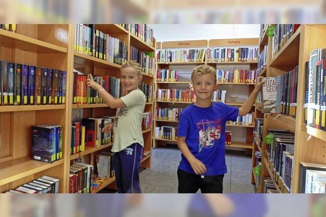 Bücherei ist nun in der Murgtalschule