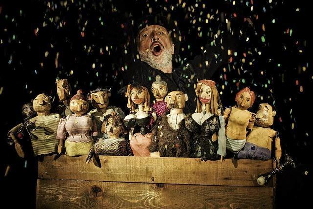 Die Bettelroper frei nach John Gray als Puppenspiel in Lahr