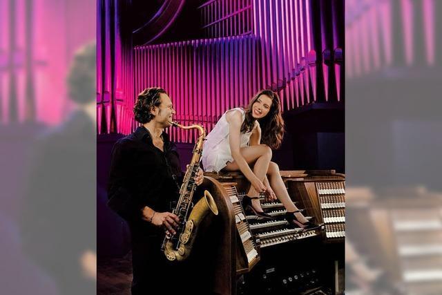 Saxophon und Orgel in der evangelischen Kirche Gengenbach