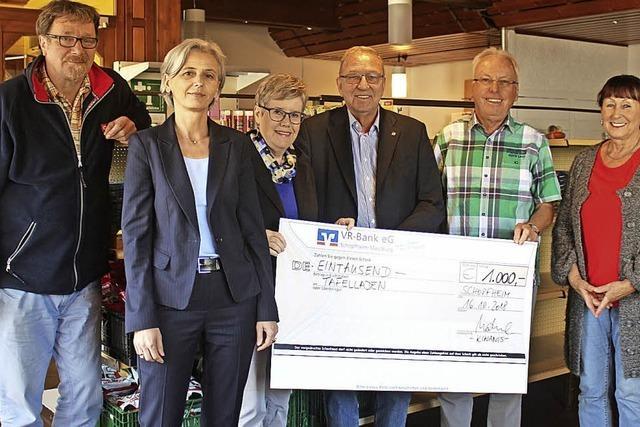 Kiwanis Club unterstützt Schopfheimer Tafel