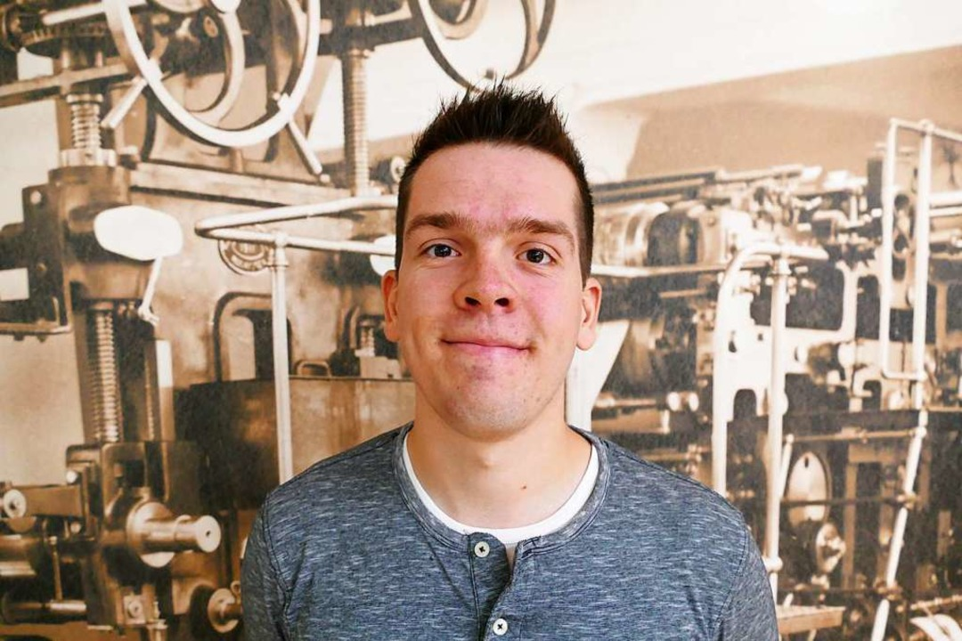 Niklas macht eine Ausbildung zum Medienkaufmann  | Foto: BZ